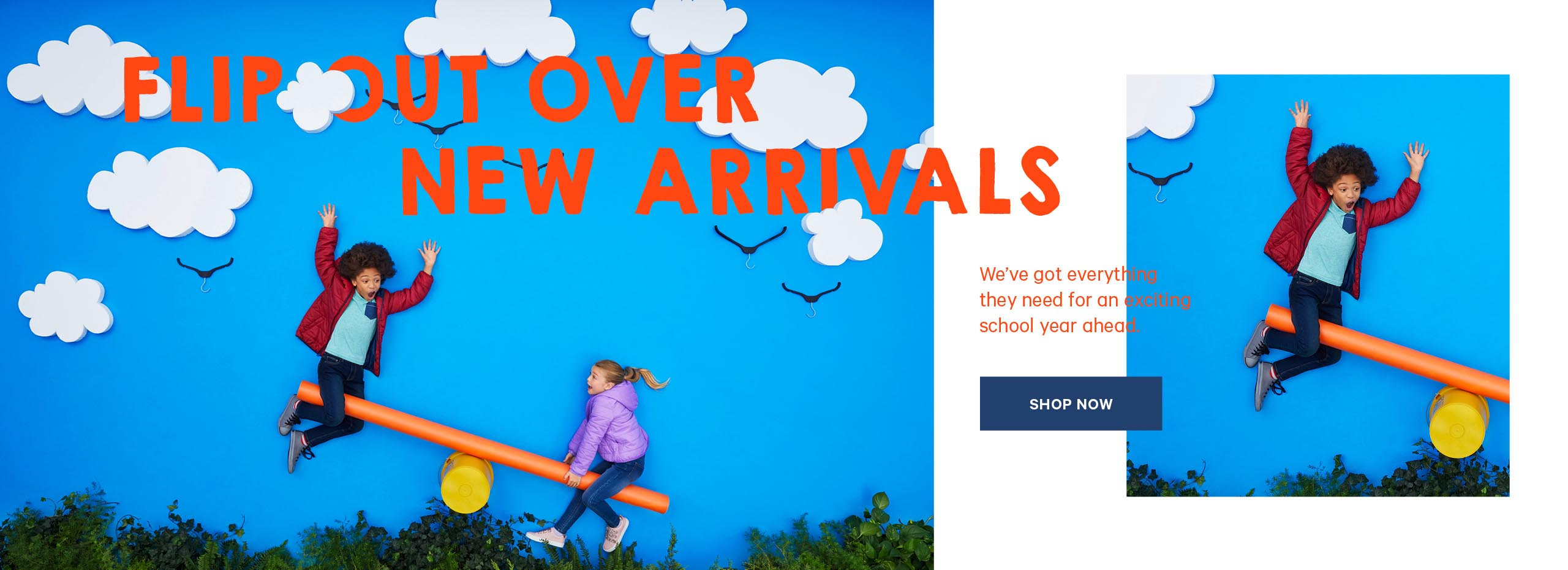 Flip Out Over  New Arrivals