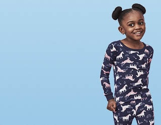 Sleepy Time. Get them ready for bed with new children's jammies.