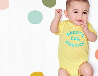 New for Newborns Our cutest delivery for your cutest delivery.
