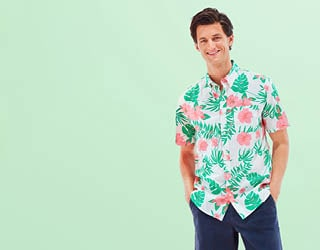 Men New Arrivals. Introducing cool styles to beat the summer heat.