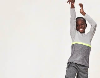 Back to letting kids be kids with new activewear.