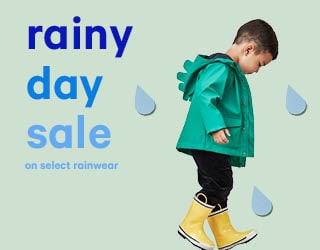 Rainy Day Sale On Select Rainwear